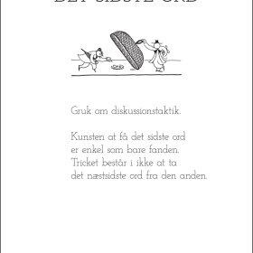 PIET HEIN - GRUK - KORT - DET SIDSTE ORD