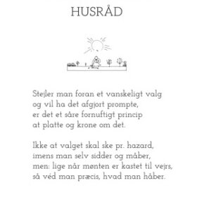 PIET HEIN - GRUK - 50X70 PSYKOLOGISK HUSRÅD