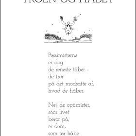 PIET HEIN - GRUK - 30X40 TROEN OG HÅBET