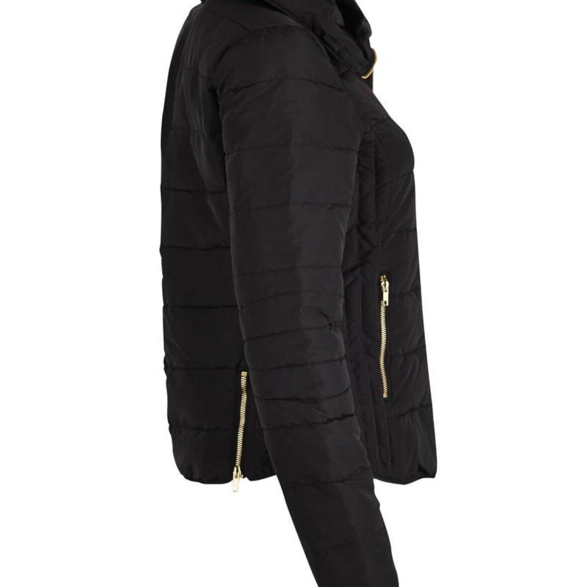 kort sort jakke