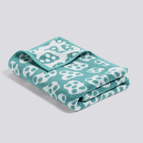 HAY - SHE - AQUA GREEN AND CREME TOWEL