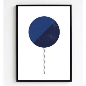 FROH UND FRAU - BLUE LOLLIPOP 30x40 PLAKAT