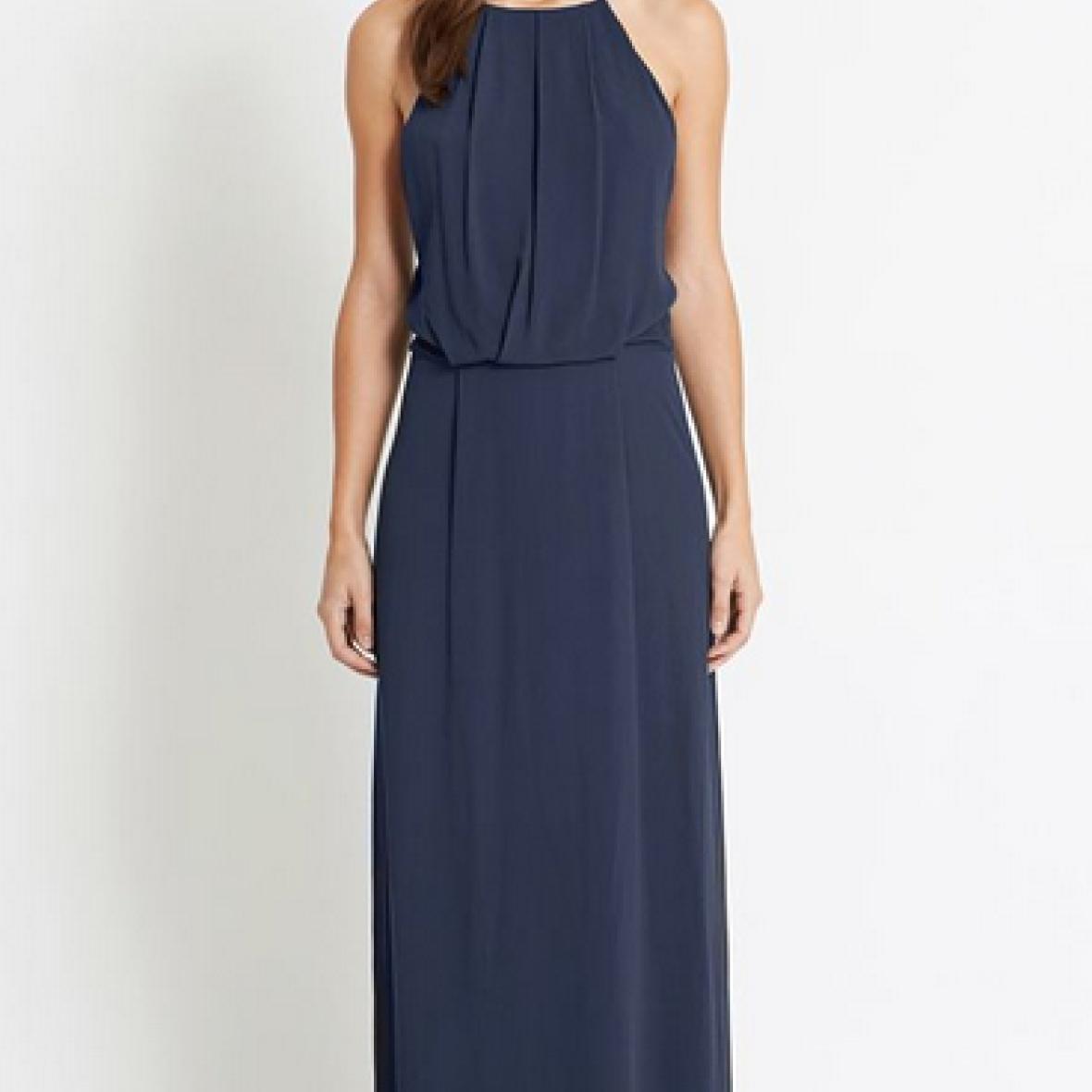 samsøe samsøe kjole blå