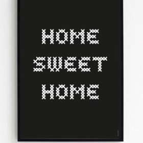 FROH UND FRAU - HOME SWEET HOME 50X70 PLAKAT