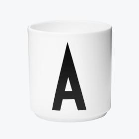 DESIGN LETTERS - PORCELAIN CUP AJ