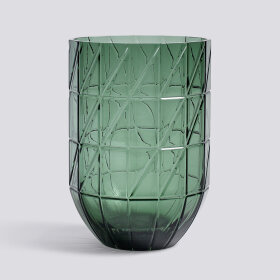 HAY - COLOUR VASE M GREEN