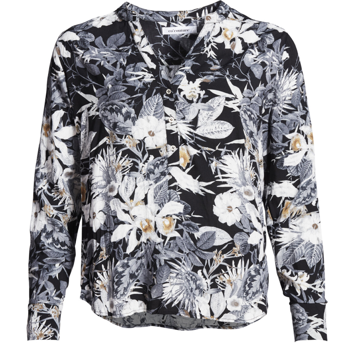 eea335efdfe TOPPE/T-SHIRT - CO COUTURE - COCO BLOMSTRET SKJORTE