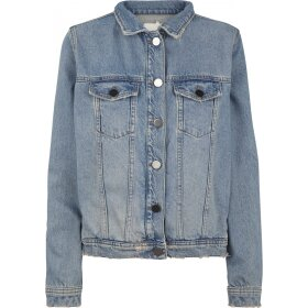 JUST FEMALE - VOLT LYS DENIM JAKKE