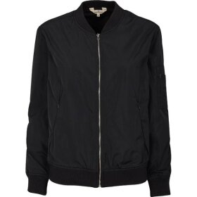 BASIC APPAREL - NAVY SIRA BOMBER JAKKE