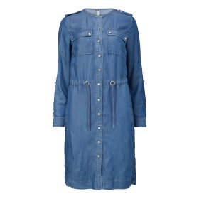 GUSTAV - DENIM POCKET DRESS