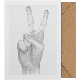 PAPER COLLECTIVE - V HANDS ART CARD A5
