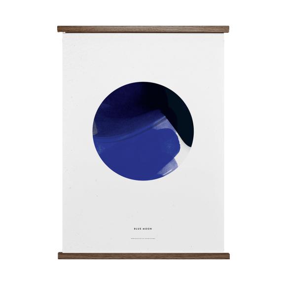 PAPER COLLECTIVE - BLUE MOON 50X70 PLAKAT