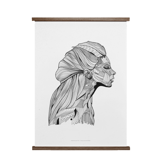 PAPER COLLECTIVE - INVISIBLE 30X40 PLAKAT