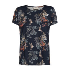 ONE TWO LUXZUZ - BLOMSTRET JERSEY T-SHIRT