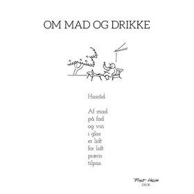 PIET HEIN - GRUK - 50X70 OM MAD OG DRIKKE