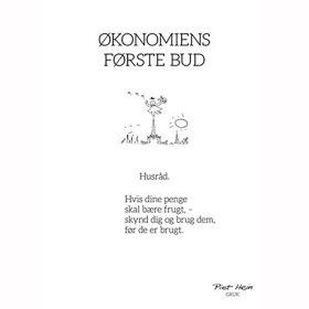 PIET HEIN - GRUK - 30X40 ØKONOMIENS FØRSTE BUD