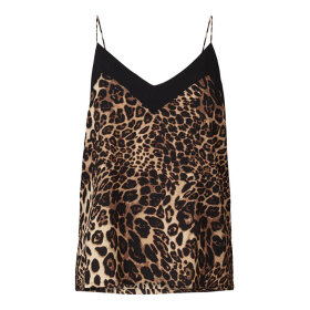 LOLLYS LAUNDRY - HARBO LEOPARDPRINTET TOP