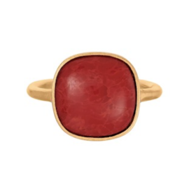 PERNILLE CORYDON - CORAL RING ADJUSTABLE