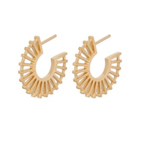PERNILLE CORYDON - SHADOW EARRINGS 20 MM