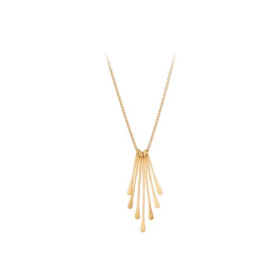PERNILLE CORYDON - WATERFALL NECKLACE AJD.