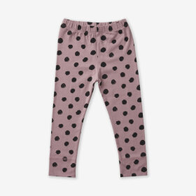 COMME CI COMME CA - LEGGINS BIG DOT / LILLA