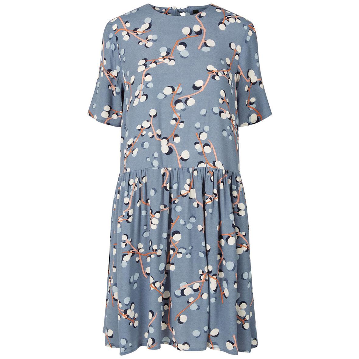 yas kjole blå