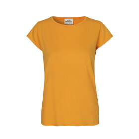 MADS NØRGAARD - PALE ORANGE TEASY T-SHIRT