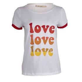 RUE de FEMME - T-SHIRT M. LOVE PRINT FORAN