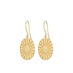 PERNILLE CORYDON - ERA EARRINGS 38 MM