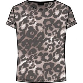 ONE TWO LUXZUZ - LEOPARD KARIN T-SHIRT