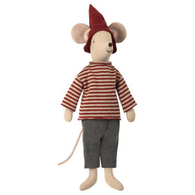 MAILEG - CHRISTMAS MOUSE,MEDIUM-BOY