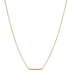 JUKSEREI - PIPE NECKLACE - GULD