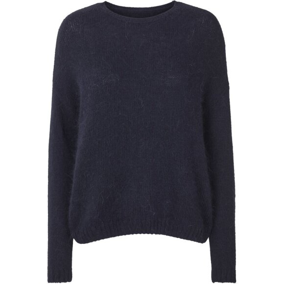 LOLLYS LAUNDRY - DARK BLUE NINA JUMPER