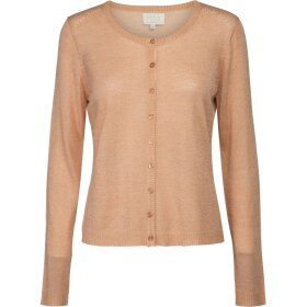 MINUS - PEACH M LUREX LAURA CARDIGAN