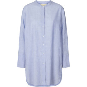 LOLLYS LAUNDRY - DOHA SHIRT - LIGHT BLUE