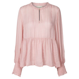 LOLLYS LAUNDRY - MAYA BLOUSE - ASH ROSE