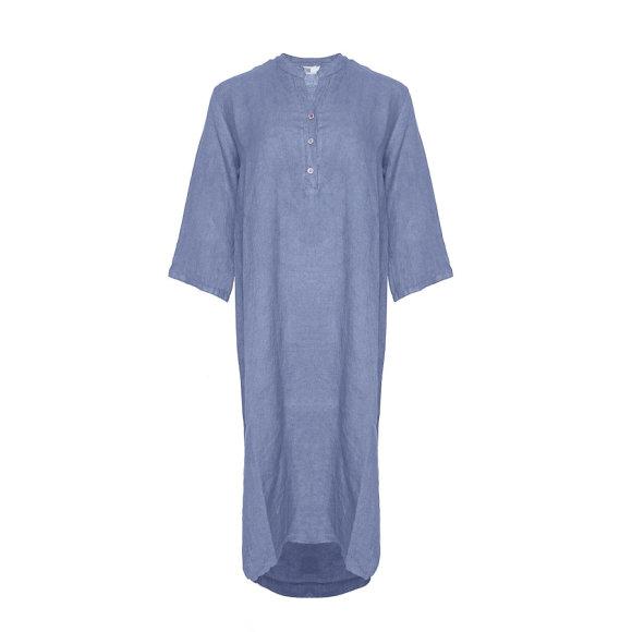 TIFFANY - Dress, Jeans Blue, Linen