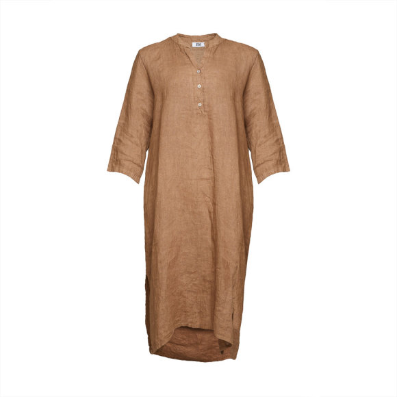 TIFFANY - Dress, Camel, Linen