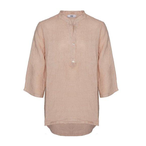 TIFFANY - Shirt, Rose, Linen