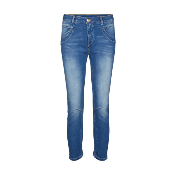 MOS MOSH - BLUE DENIM NAOMI SATEEN JEANS