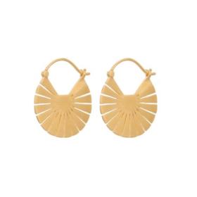 PERNILLE CORYDON - FLARE EARRINGS 23 MM