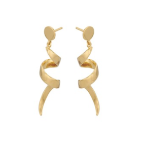 PERNILLE CORYDON - SMALL LOOP EARRINGS 42 MM