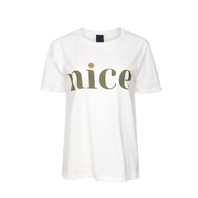 ONE TWO LUXZUZ - CREAM NICE T-SHIRT