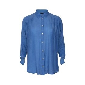 ONE TWO LUXZUZ - LEANE SHIRT - CHAMBRAY