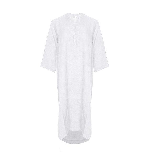 TIFFANY - DRESS, WHITE, LINEN