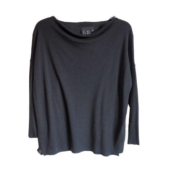 LISELOTTE HORNSTRUP - Mid Shirt - Black