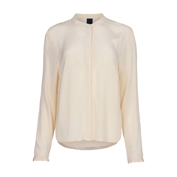ONE TWO LUXZUZ - OFFWHITE MAGDALENIA BLUSE