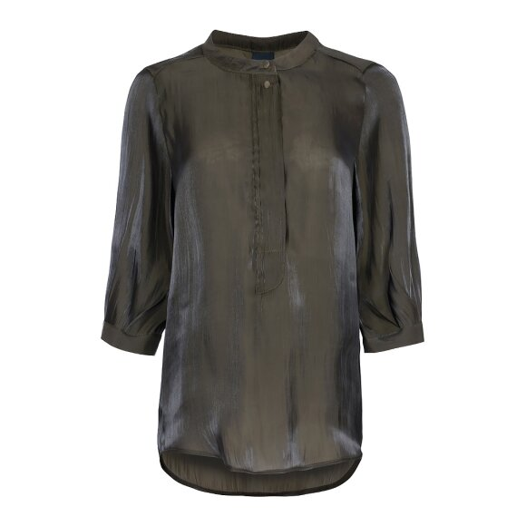 ONE TWO LUXZUZ - ARMY MAGGIA BLUSE