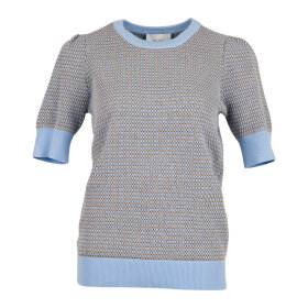 NEO NOIR - MADISON KNIT TEE - LIGHT BLUE