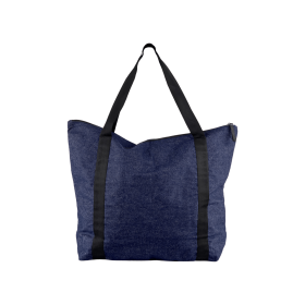 BLACK COLOUR - DENIM SHOPPER